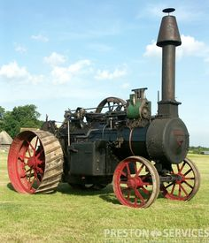 FOSTER 10 NHP Traction Engine - PRESTON SERVICES
