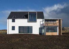 Skye modern house - House and home design Loft Dormer, Dormer House, Dormer Roof, Dormer Windows, Farmhouse Architecture, Roof Architecture, Residential Architecture, Architecture Details, Loft Conversion Roof