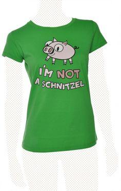 Im not a Schnitzel - Women, grün von PETA T-Shirt - Organic & Fair Wear