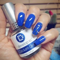 See how @lashenny21nails uses Develop10 Calcium Gel as base and top coat to grow her nails strong and healthy!  Growing strong nails! @demertbrands #Develop10 #nailtreatment #CalciumGel #DeMert #DeMertBrands Brand: @sinfulcolors_official #SinfulColors #SinfulShine Shade: #MostSinful  #LaShenny21Nails #nailswag #notd #nailsoftheday #nailstagram #nailsofinstagram #nailspiration  #nailgram #instanails #nailpolishaddict #naildesign #nails2inspire #naturalnails #bluenails #ulta #glitter…