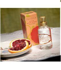 My second favorite perfume....Pacifica Blood Orange