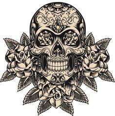 La historia de los tatuajes de calaveras - Cuerpo y Arte