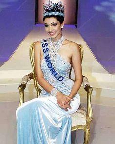 Yukta Mookhey (India) - Miss World 1999 Indian Prince, World Winner, Miss India, Miss World, Bollywood Fashion, Bollywood Style, Beauty Pageant, Royal Fashion, India Beauty