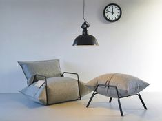 Inflatable Wool Air Armchair by Malafor 5
