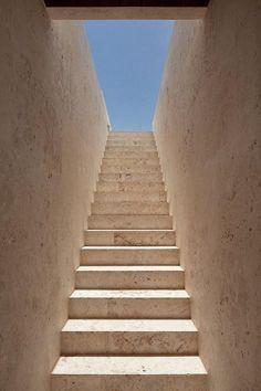 Staircase inside the Casa Kimball by Rangr Studio.