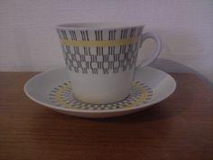 Gefle Gavott kaffekopp Uppsala, Teacups, Retro, Coffee Cups, Mugs, Tableware, Coffee Mugs, Dinnerware, Tumblers