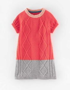 Cosy Cable Knitted Dress 31931 New In at Boden