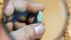 Un reloj anillo en una tumba de la dinastía ming