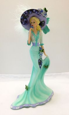 Delicate Harmony by Lena Liu  Lady Figurine Bradford Exchange