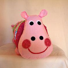 Yo Yo Hippo by NancysWorkshop on Etsy