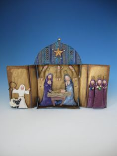 Hey, I found this really awesome Etsy listing at https://www.etsy.com/listing/175744890/creche-nativity-christmas-nativity
