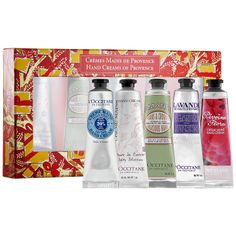 L'Occitane Hand Creams Of Provence #Giftopia #Sephora #gifts #holiday2013
