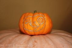 "A different way to ""carve"" a pumpkin"