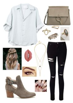 """""""Untitled #224"""" by cassidycarpenter on Polyvore featuring Sole Society, Miss Selfridge, Aéropostale, Emilie Shapiro, Savannah Stranger, Puck Wanderlust, LULUS and Lime Crime"""
