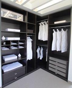 Nice L Shaped Closet Bedroom Storage Master Wardrobe