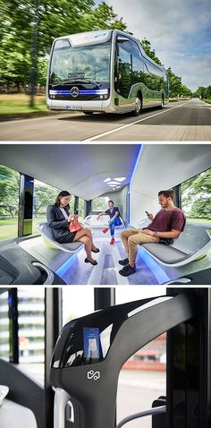 Daimler Buses presents the Mercedes-Benz Future Bus, the first autonomously…