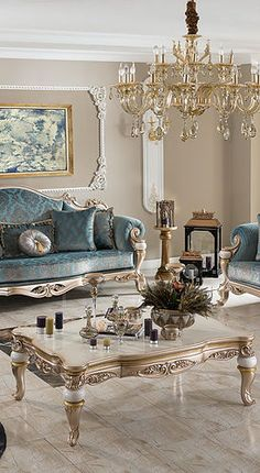 Sofa & Dining Room home decor living room Classic Furniture Living Room, Luxury Dining Room, Home Room Design, Luxury Furniture, Luxury Living Room, Living Room Designs, Luxury Lounge Furniture, Classy Living Room, Living Room Sofa Set