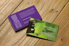 Chiropractor Business Card. Reflexology/Vita Flex design personalized for Essential Oil Distributors. Choose dōTerra, your Young Living or none. #business #networking