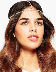 ASOS Simple Stone Set Hair Crown