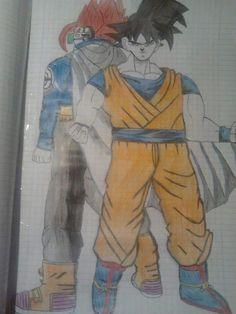 Personaggio Misterioso e Goku parte 2 ♡