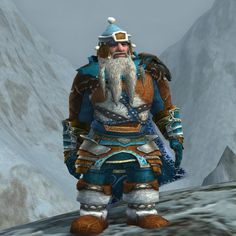 Keepers of Moria: Peak-steward.  Totally love this hat with the Forochel clothes.  Great job!