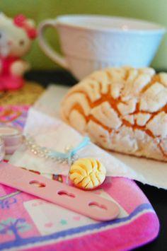 Concha pan dulce charm by Ambhu on Etsy, $5.00
