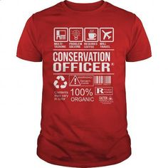 Awesome Tee For Conservation Officer - #teestars #hoodies for boys. I WANT THIS => https://www.sunfrog.com/LifeStyle/Awesome-Tee-For-Conservation-Officer-103655673-Red-Guys.html?60505