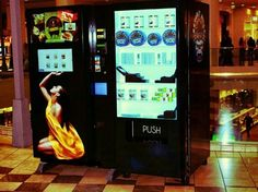 Caviar Vending Machine In Los Angeles  | 24 Vending Machines You Won't Believe Exist