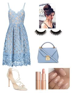 """summer evening"" by janelee7549 on Polyvore featuring Schutz and Mark Cross"