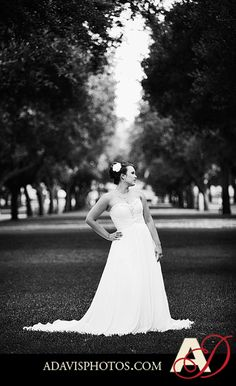 bridal portraits on SMU campus?