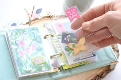 Create a darling mini album in 20 minutes or less with the Instax Album from We R Memory Keepers. Instax Mini Album, Diy Mini Album, Mini Albums Scrap, Mini Scrapbook Albums, Diy Scrapbook, Washi, Spring Break Trips, Mini Books, Flip Books