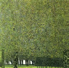 Gustav Klimt, The Park, 1910