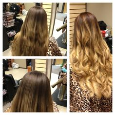 Beautiful hair and Ombre hair color :)