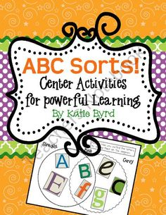 Viewing 1 - 20 of 38045 results for abc sorts center activities for powerful learning Abc Centers, Activity Centers, Alphabet Activities, Literacy Activities, Kindergarten Literacy, Early Literacy, Kids Education, Childhood Education, Thing 1