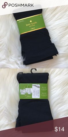 🎁🎄 Kate Spade Black Tights Pantyhose NWT New with tags Size M/L Black Tights kate spade Accessories Hosiery & Socks