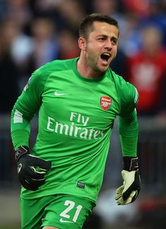 Lukasz Fabianski Photos - Wigan Athletic v Arsenal - FA Cup Semi-Final - Zimbio