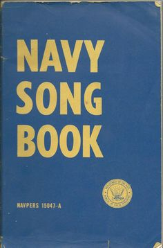 US Navy song book NAVPERS 15047-A soft cover $4.99