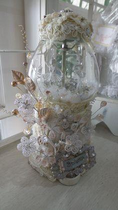 Altered Gum Ball Machine-Ballerina created by Msgardengrove1
