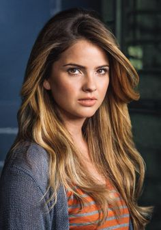 29.Shelley Hennig As Danielle Dani Elle Claire-Mikaelson-Reigns Aka Twin#2.And Aka Claire Witch#3.