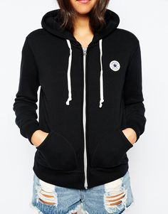 6b9d39d1af95 Converse Zip Up Hoodie With Small Front Logo Tracksuit at asos.com