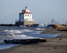Fairport Harbor Lighthouse Lake Erie Ohio