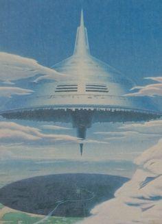 "martinlkennedy:  ""'Eclipse' by Kikuo Hayashi. From Future Life magazine Sept 1981  """