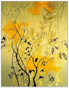 Wild Flowers - Eyvind Earle