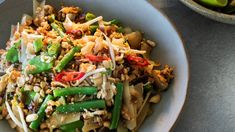Vegan Recipes Nz, Wine Recipes, Cooking Recipes, Tofu Pad Thai, Vegan Pad Thai, Chelsea Winter, Fresh Coriander, Winter Food, Stuffed Peppers