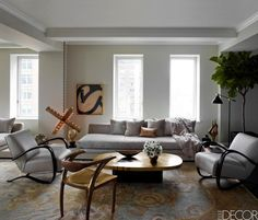 Ivanka Trump's living room designed by Kelly Behun