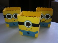 Stampin' Up! Minions Fancy Favour Boxes www.facebook.com/lovefromthefairies