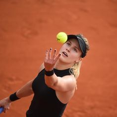 on the  #Bouchard #RG17 : Corinne Dubreuil / FFT
