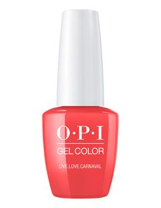 Live.Love.Carnaval This bright, summery coral shade is the definition of fun. This vibrant and festive coral nail polish is the life of the party Urlaubsfarbe