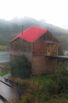 Club House en la Isla Lebe   Rilan Chiloé
