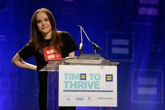 Ellen Page came out at a Human Rights Campaign conference. | 12 Reasons You Should Be Proud To Be Alive In 2014